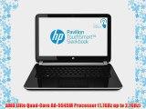 HP Pavilion TouchSmart Sleekbook 14-f027cl 14 Laptop (1.7 GHz AMD A8-5545M Processor 6 GB RAM