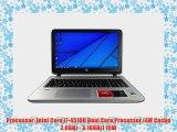 HP Envy 15t i7-4510U 16GB 1TB 7200rpm HDD GTX 850M 4GB Windows 8.1 15.6 Full HD Laptop Computer