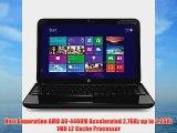 HP Pavilion G6-2235us 15.6 Laptop (2.7 GHz AMD A6-4400M Accelerated Processor 4GB RAM 750GB