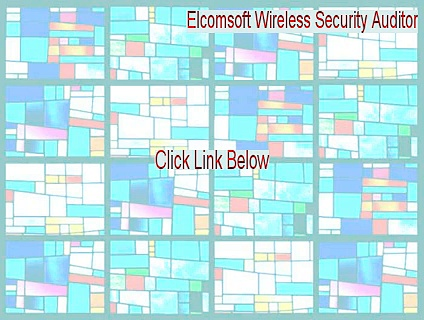 Elcomsoft Wireless Security Auditor Cracked [elcomsoft wireless security auditor serial 2015]
