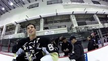Demo of the Skills of this talented hockey player - On the Ice with Sidney Crosby