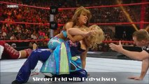 WWE Diva Moves- Mickie James