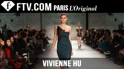 Vivienne Hu Fall/Winter 2015 Show |  New York Fashion Week NYFW | FashionTV
