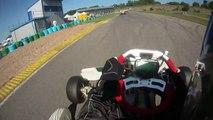 Karting TonyKart Rotax Max, 3° séance d'essai course de club Autoreille le 21_08_10 (720p 60fps)