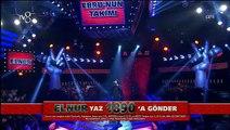 O Ses Türkiye Elnur Hüseynov 'Yalgızam' (Yarı Final)
