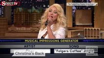 Christina Aguilera'dan Britney Spears taklidi