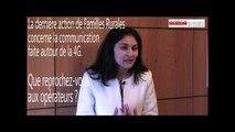 Interview de Nadia ZIANE, responsable du pôle représentation et défense des intérêts des familles et des territoires – Familles rurales (31 janvier 2014)