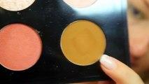 Makeup Green Eyes (♥_♥) Mac Lucky Green Eyes & Creme D' Nude Lips Makeup Tutorial