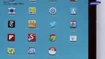 How to use the Hancom Office app on your Samsung PRO series tablet