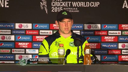Past experience crucial for Ireland - Wilson