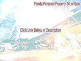 Florida Personal Property Bill of Sale Serial [Florida Personal Property Bill of Salepersonal property bill of sale florida]