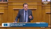 Ομιλία Γεωργαντά στη Βουλή για την άρση της ασυλίας του Α. Γεωργιάδη