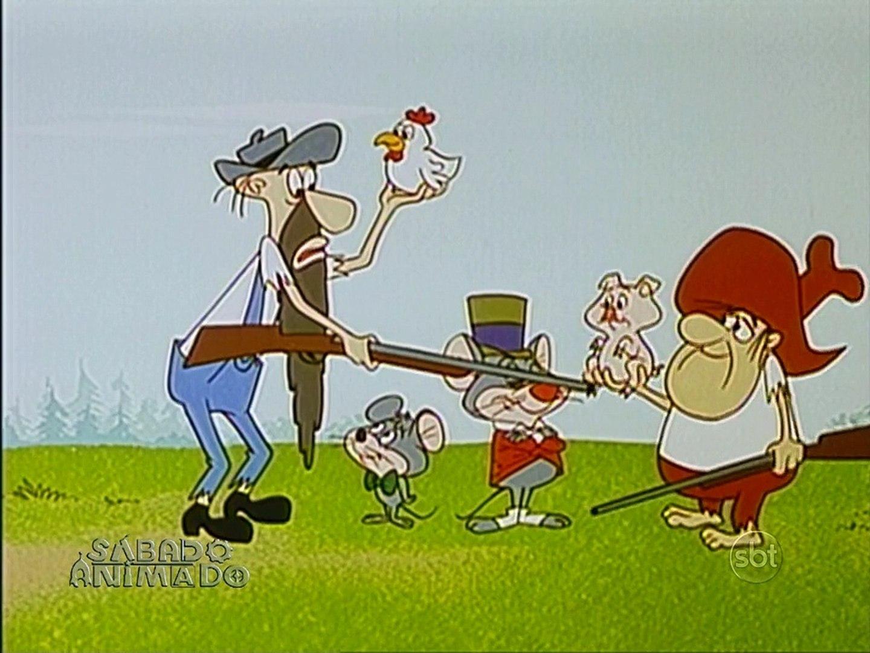 Looney Tunes - Merlin, o Rato Mágico - Feud With a Dude (1968) (dublagem Cinecastro)