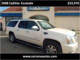 2008 Cadillac Escalade Baltimore Maryland   CarZone USA