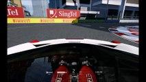 Ferrari 458 Italia, Marina Bay Street Circuit, Multi-Cam, Assetto Corsa HD