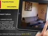 A vendre - appartement - NOISY LE GRAND (93160) - 2 pièces - 48m²