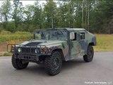 Airless tire test Humvee vs Hummer