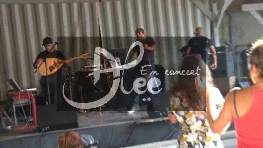 ALEE, chanson urbaine aux P'tites Lessives 2014