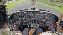 Citation V Jet - GPS approach - liveATC