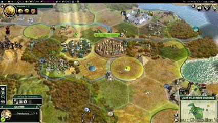 Civilization V live du 23/02 (REPLAY)