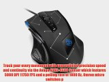 Anker Programmable Gaming Laser Mouse with 5000 DPI 11 Programmable Button Weight Tuning Cartridge
