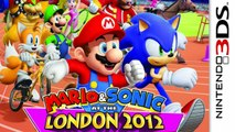 Mario and Sonic at the London 2012 Olympic Games Gameplay (Nintendo 3DS) [60 FPS] [1080p] Top Screen