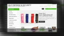 Self Defense Products Ranging From Stun Guns to Cutting Edge Defense Products!