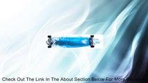 Krown Tidal Wave Pin Complete Longboard Skateboard Review