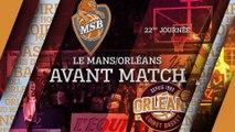 Avant-Match - J22 - Orléans se déplace au Mans