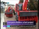 Freze pentru Moldova, cu bani europeni. Utilajele pot fi folosite în nămeţi, dar şi vara, la intervenţiile pompierilor