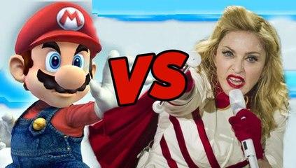 Madonna VS Super Mario