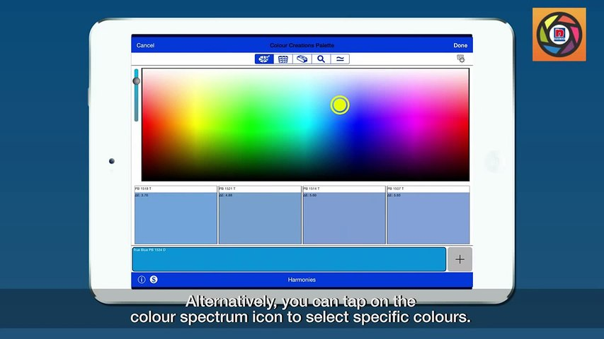 Nippon Paint - Colour Creations App User Guide