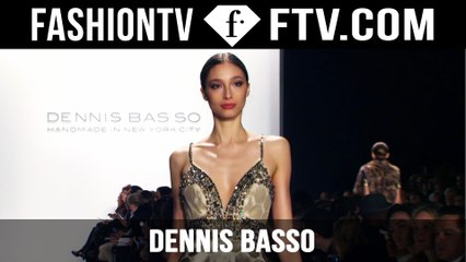Dennis Basso 2015 Show | New York Fashion Week NYFW | FashionTV