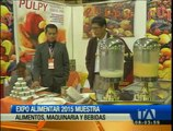 """""""Expoalimentar 2015"""" muestra maquinaria, bebidas y alimentos"""
