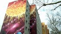 Des locataires de Brive Habitat à la découverte des fresques de CitéCréation à Lyon et Vaulx-en-Velin