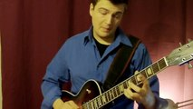 Jazz Guitar Chord Melody: Blue in Green (with improvisation) - Jazz Guitar Lesson