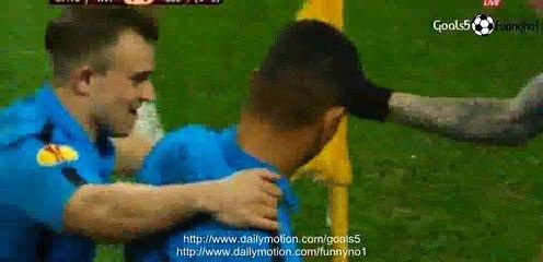 Fredy Guarin Amazing Goal Inter 1 - 0 Celtic Europa League 26-2-2015