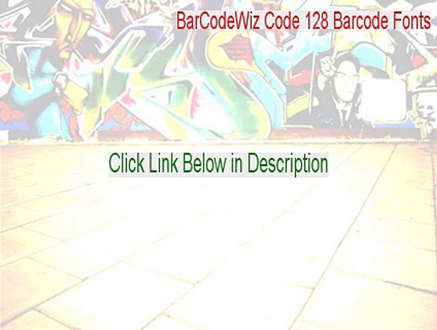 BarCodeWiz Code 128 Barcode Fonts Serial [barcodewiz code 128 barcode fonts  2 39]