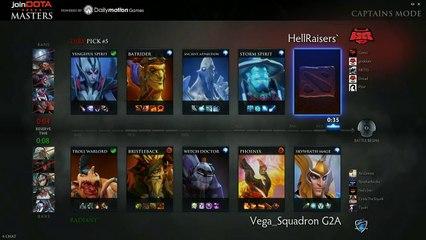 HellRaisers vs Vega Game 3 - joinDOTA Masters @TobiwanDota @DotaCapitalist
