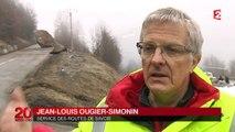 Deux rochers ont bloqué des milliers d'automobilistes dans les Alpes