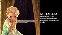 Queen Elsa Arrest Warrant Issued - Disney Monarch Wanted