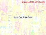 Mini-stream RM to MP3 Converter Serial - mini-stream rm-mp3 converter 3.1.2.1 [2015]