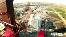 Cannibal Roller Coaster Construction Update February 2015 (HD POV) Lagoon Park