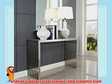 Gridiron Stainless Steel Console Table Stainless Steel