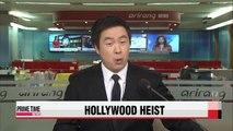 Big-ticket Oscar dress stolen in Hollywood