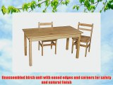 Wood Designs WD84822 Child's Table 24 x 48 Rectangle with 22 Legs