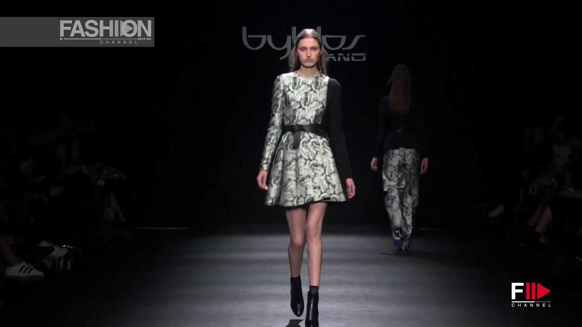 BYBLOS Milan Fashion Week Fall 2015 by Fashion Channel