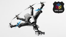 The Hexo+ Follow-Me Drone Video Review - ISPO 2015 | EpicTV...