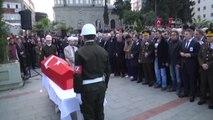 Afganistan'da Şehit Olan Piyade Uzman Çavuş Şengül'ün Cenazesi