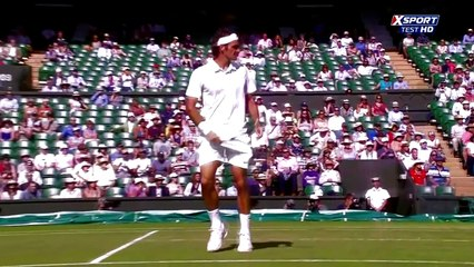 Roger Federer - Top 10 Nonchalant points